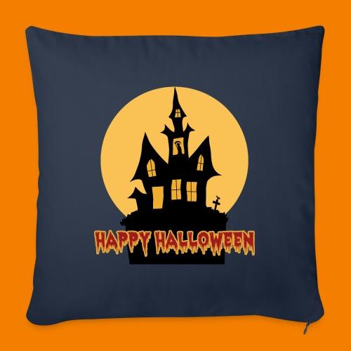 Happy Halloween - Soffkudde med stoppning 44 x 44 cm
