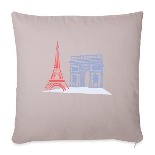 Paris - Coussin et housse de 45 x 45 cm