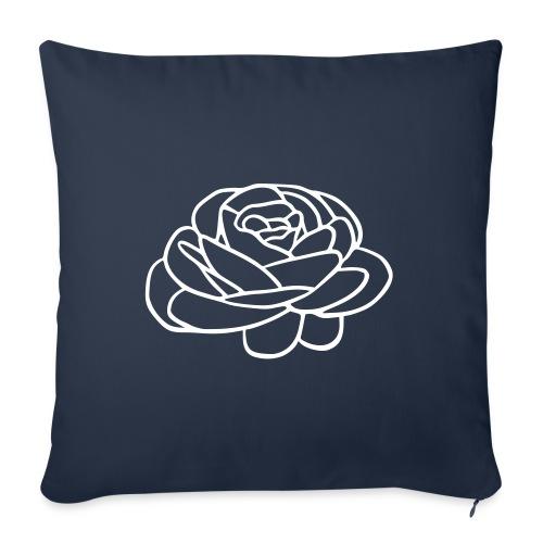 Rose - Sofapude med fyld 44 x 44 cm