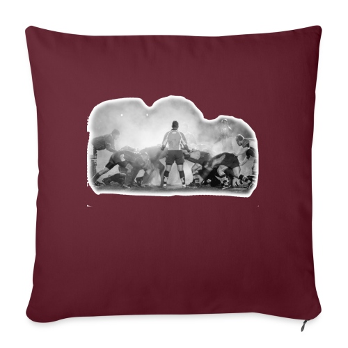 Rugby Scrum - Sofa pillow with filling 45cm x 45cm