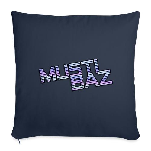 Mustibaz - Sofakissen mit Füllung 44 x 44 cm