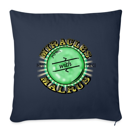 Miracles with Malrus - Sofa pillow with filling 45cm x 45cm