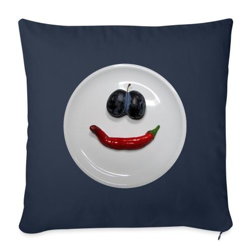 TIAN GREEN - Hot Smile - Sofakissen mit Füllung 44 x 44 cm