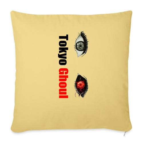 Tokyo Ghoul - Cojín de sofá con relleno 44 x 44 cm