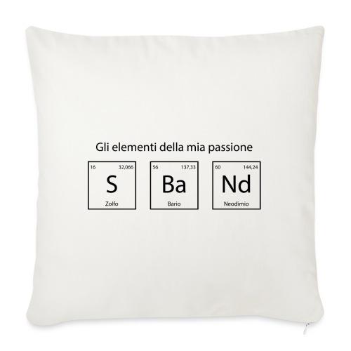 elementi chimici sband - Cuscino da divano 44 x 44 cm con riempimento