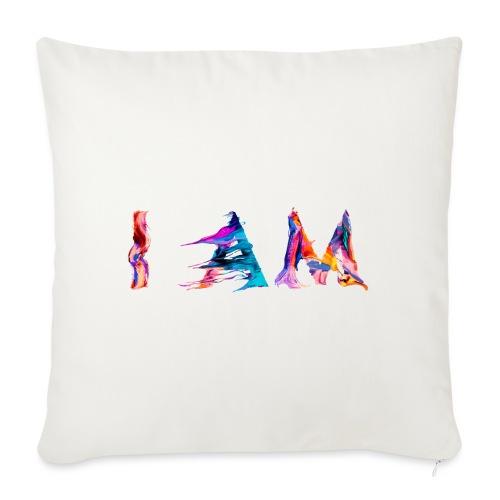 I AM - Coussin et housse de 45 x 45 cm