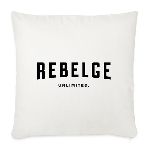 Rebelge België Belgique - Coussin et housse de 45 x 45 cm