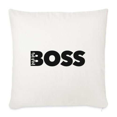 Mom Boss - Sofakissen mit Füllung 44 x 44 cm