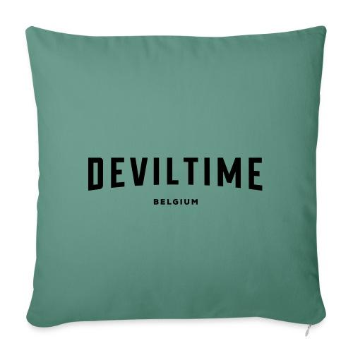 deviltime Belgium België Belgique - Coussin et housse de 45 x 45 cm