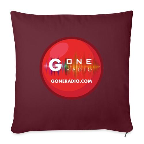 G ONE RADIO.COM - Coussin et housse de 45 x 45 cm