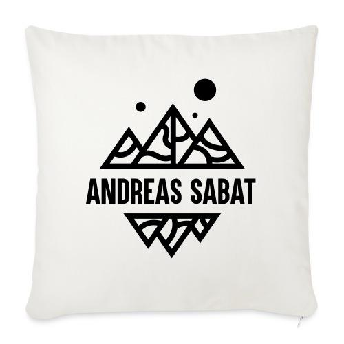 sabat logo black - Sofapude med fyld 44 x 44 cm