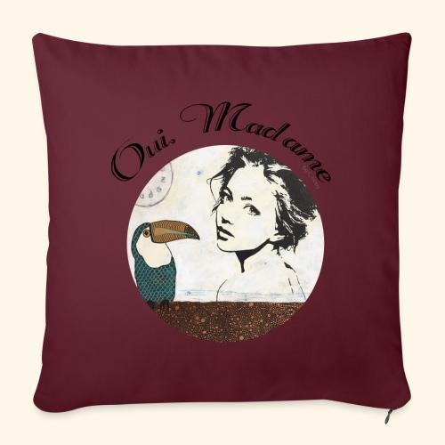 Oui Madame - Chrystelle Gouy - Coussin et housse de 45 x 45 cm