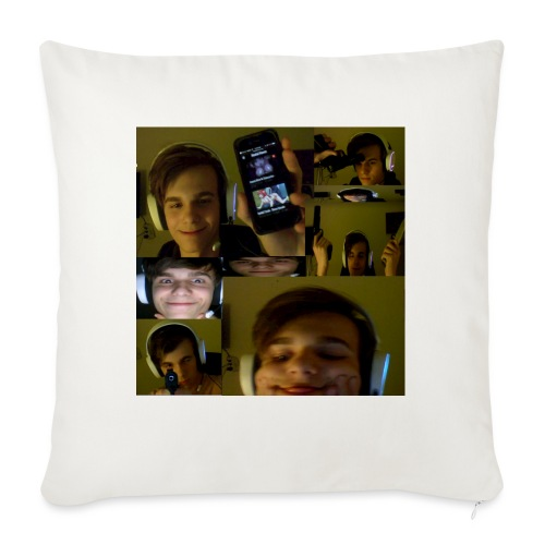 miltaptweets - Sofa pillow with filling 45cm x 45cm