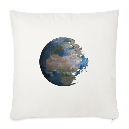 Death Earth - Coussin et housse de 45 x 45 cm