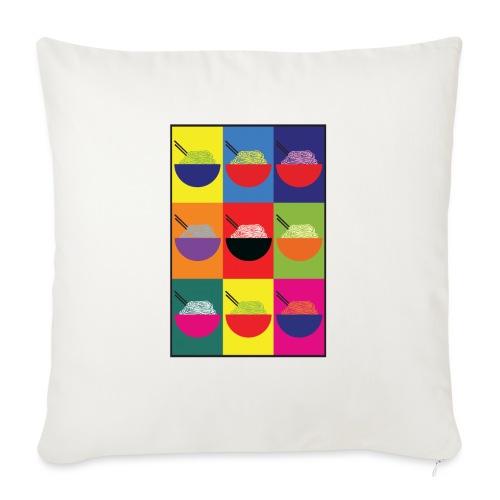 Pop Pho Art - Coussin et housse de 45 x 45 cm