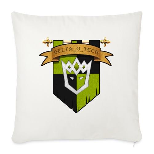 Delta_o_Tech-Banner - Sofa pillow with filling 45cm x 45cm