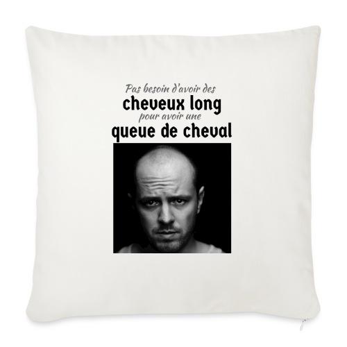 Humour Chauve ! - Coussin et housse de 45 x 45 cm