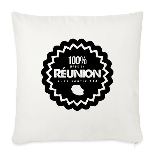 Collection 100% MADE IN REUNION - Coussin et housse de 45 x 45 cm