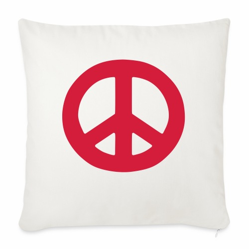 Peace - Sofa pillow with filling 45cm x 45cm