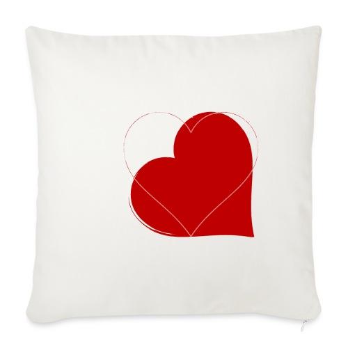 Kærlighed - Sofapude med fyld 44 x 44 cm