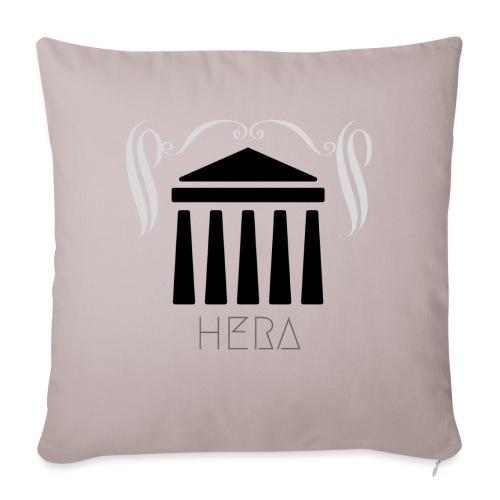 HERA - Coussin et housse de 45 x 45 cm