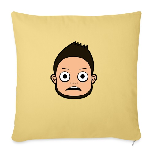 THE FACE - Sofa pillow with filling 45cm x 45cm