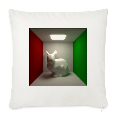 Bunny in a Box - Sofa pillow with filling 45cm x 45cm