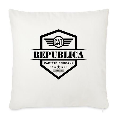 REPUBLICA CATALANA ELEGANT - Cojín de sofá con relleno 44 x 44 cm