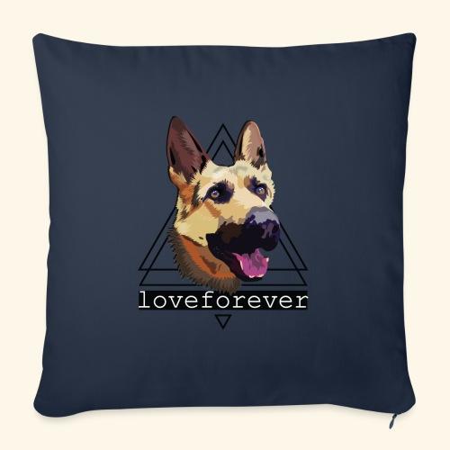 SHEPHERD LOVE FOREVER - Cojín de sofá con relleno 44 x 44 cm