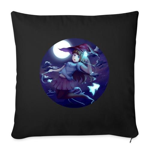 Witch in the Night - Cuscino da divano 44 x 44 cm con riempimento