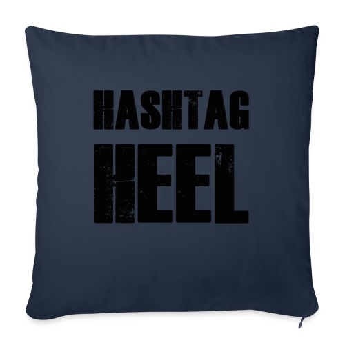 hashtagheel - Sofa pillow with filling 45cm x 45cm