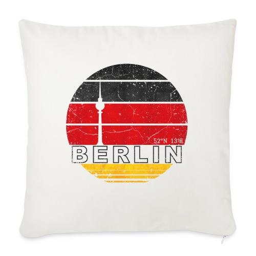 BERLIN, Germany, Deutschland - Sofa pillow with filling 45cm x 45cm