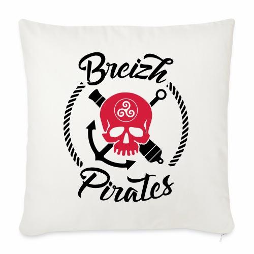 Breizh Pirates - Coussin et housse de 45 x 45 cm