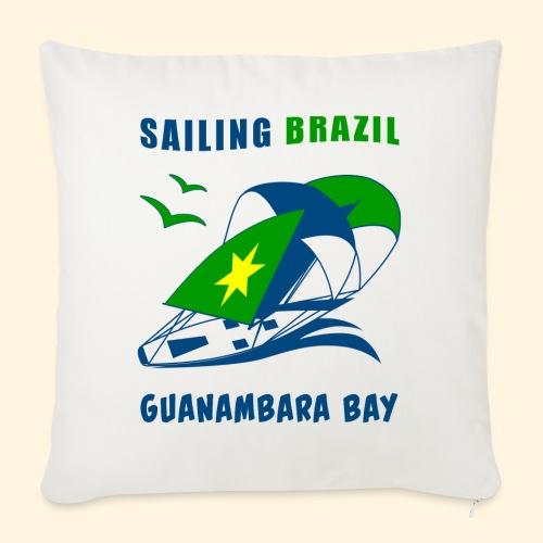 Sailing Brazil - Sofa pillow with filling 45cm x 45cm