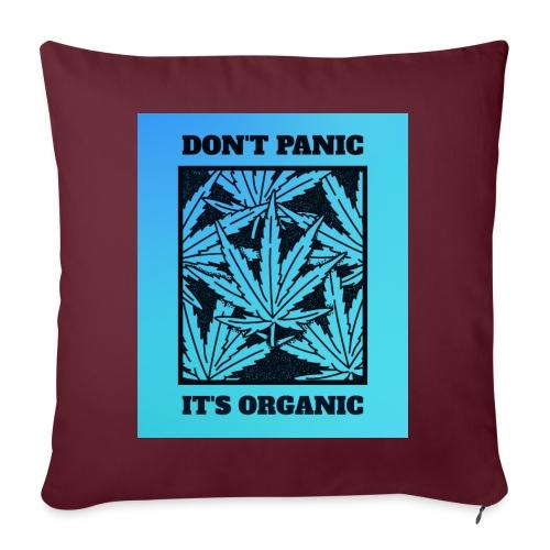 Don´t Panic it´s Organic - Sofakissen mit Füllung 44 x 44 cm