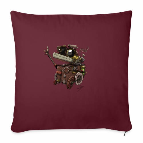 Bout 2 Robot - Sofa pillow with filling 45cm x 45cm