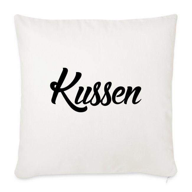 Kussen.website kussensloop zwart