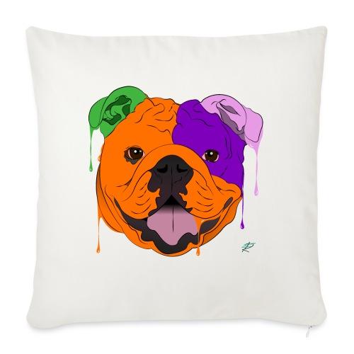 Bulldog - Cuscino da divano 44 x 44 cm con riempimento