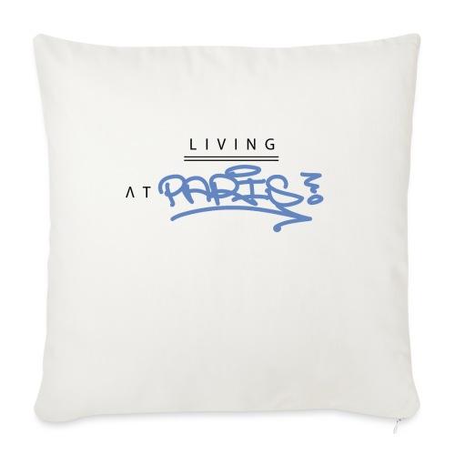 Living @ Paris street letters - Coussin et housse de 45 x 45 cm