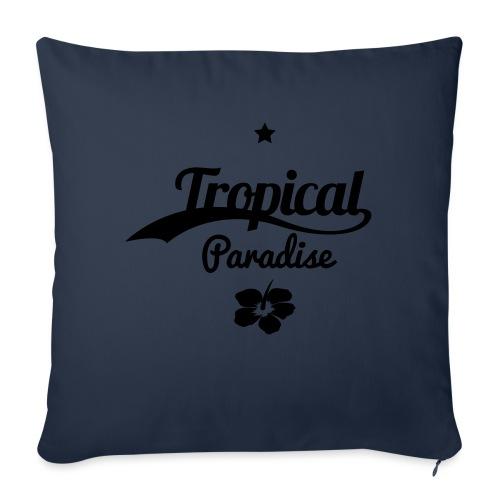 Tropical paradise - Sohvatyynyt täytteellä 44 x 44 cm