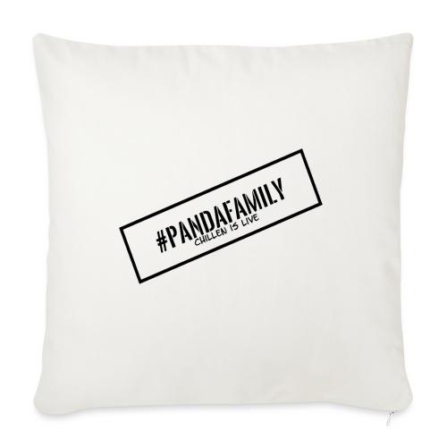 #PandaFamily [Balken] - Sofakissen mit Füllung 44 x 44 cm