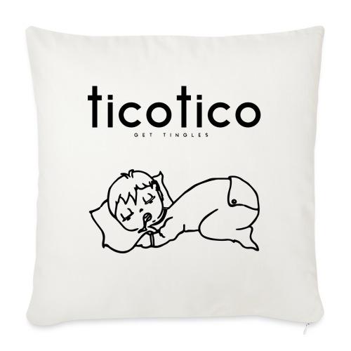 TicoTico! Dormi come un bambino! - Cuscino da divano 44 x 44 cm con riempimento