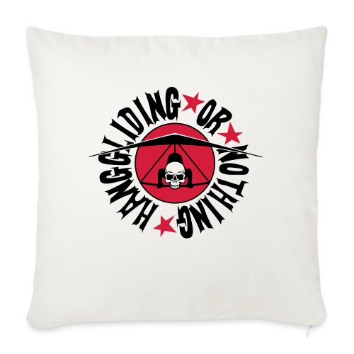 Hanggliding or nothing ! - Sofa pillow with filling 45cm x 45cm