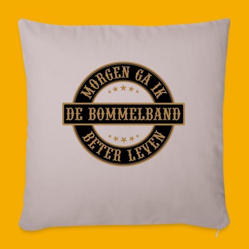 bb logo rond shirt - Bankkussen met vulling 44 x 44 cm