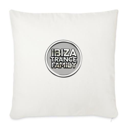 itf circle chrome trans png - Sofa pillow with filling 45cm x 45cm