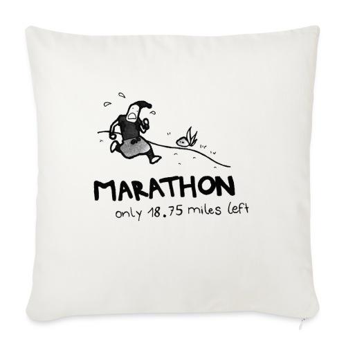 marathon-png - Poduszka na kanapę z wkładem 44 x 44 cm