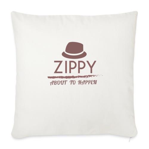 ZIPPY - Cojín de sofá con relleno 44 x 44 cm
