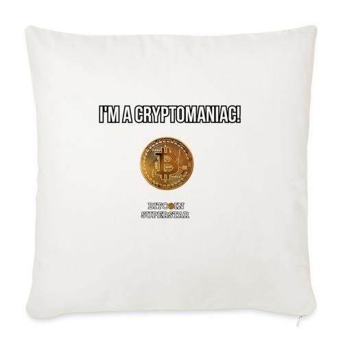 I'm a cryptomaniac - Cuscino da divano 44 x 44 cm con riempimento