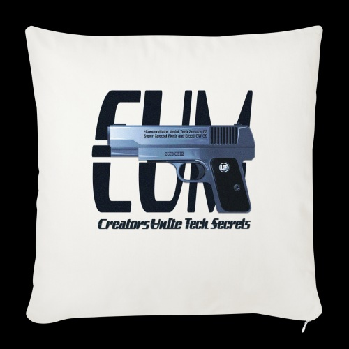 Tech Secrets 06 [CREATORS UNITE ORIGINAL] - Sofa pillow with filling 45cm x 45cm
