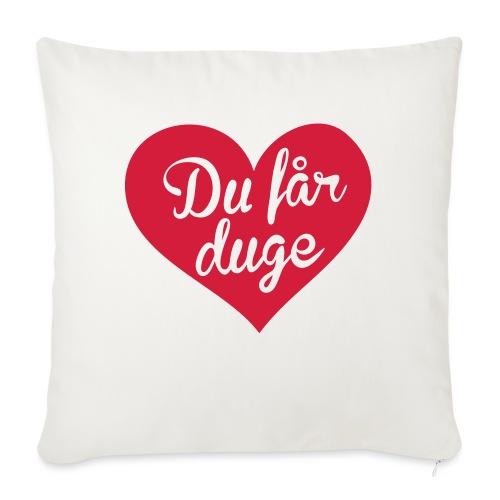 Ekte kjærlighet - Det norske plagg - Sofapute med fylling 44 x 44 cm